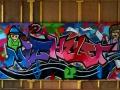 Graffiti - Fresque Composition - Michelet
