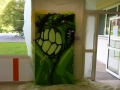 Graffiti - Hulk - Behal
