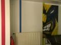 Graffiti - Wolverine - Condorcet - Accroché