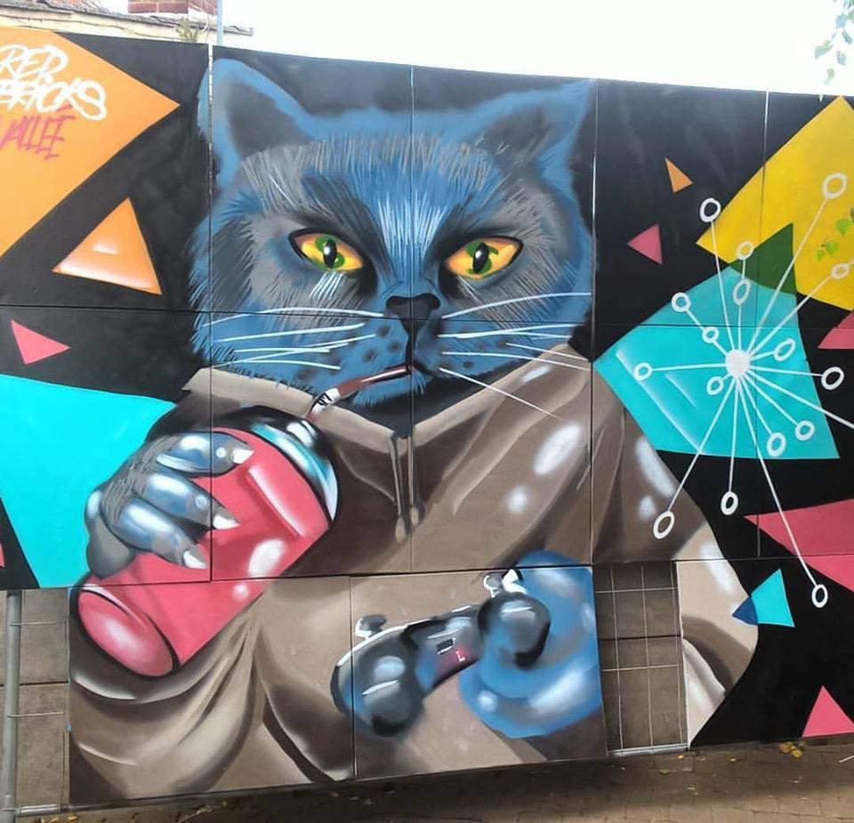 Graffiti-Geek-Cat-chat-Louvre-Lens-Vallée-01
