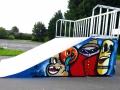 Décoration skatepark de Loos en Gohelle