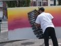 Ser réalise un décors building graff