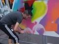 Graffiti très coloré