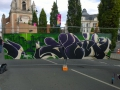 Graffiti terminé à Lens