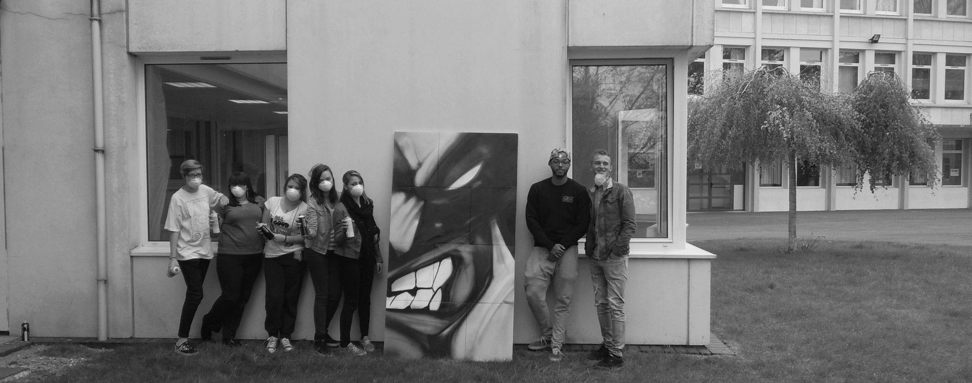 Cultures Urbanes, graffiti, encadrement et décos