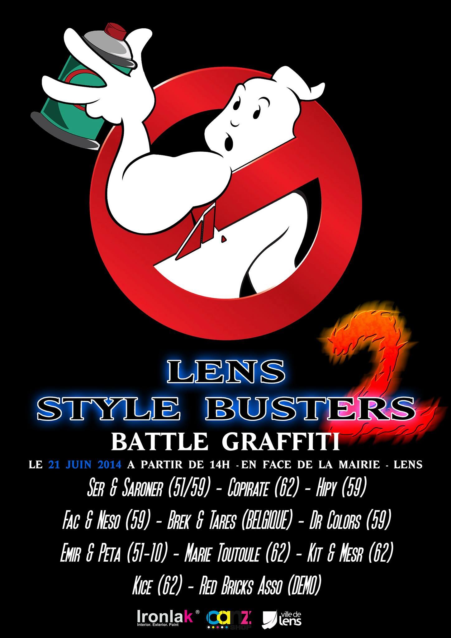 Battle Graffiti à Lens numéro 2