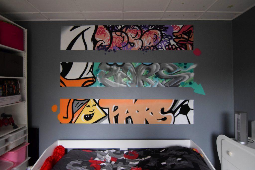 CHambre graffiti à Lens