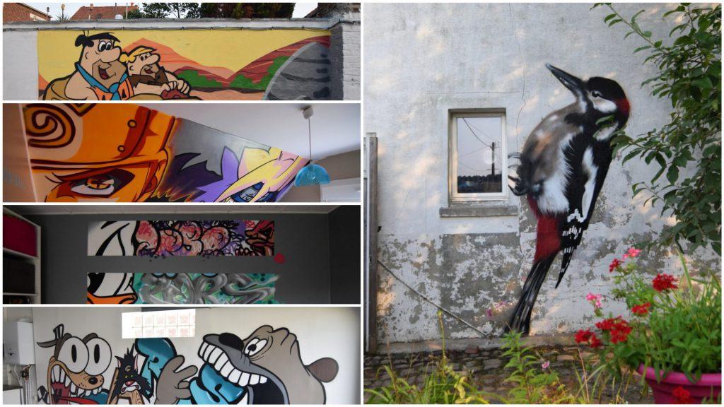Chambre graffiti dans le nord pas de calais