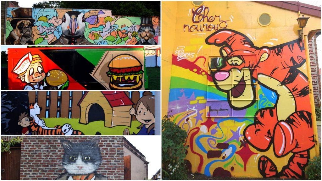 Décoration street-art et graffiti dans le Nord Pas de Calais