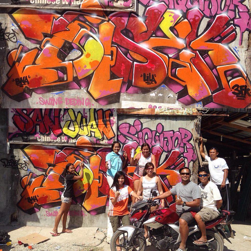 Disek graffeur Mexico