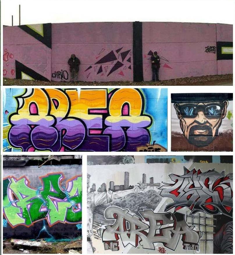 AREA2 Graffeurs