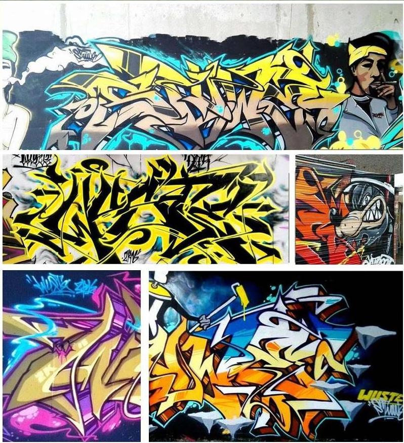 Graffiti Wuste