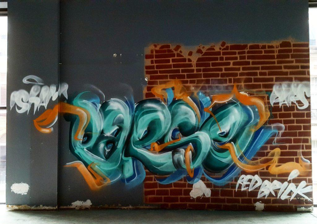 Graffiti à Lille par Parse