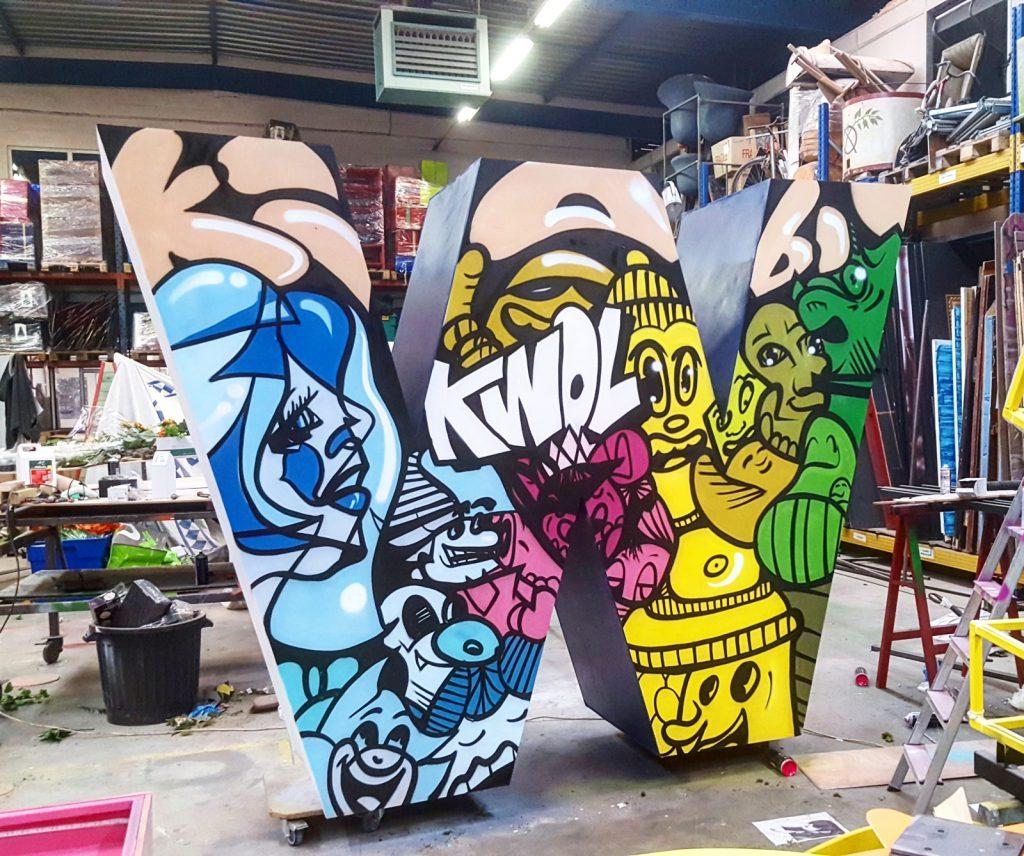 Graffiti pour Kiabi