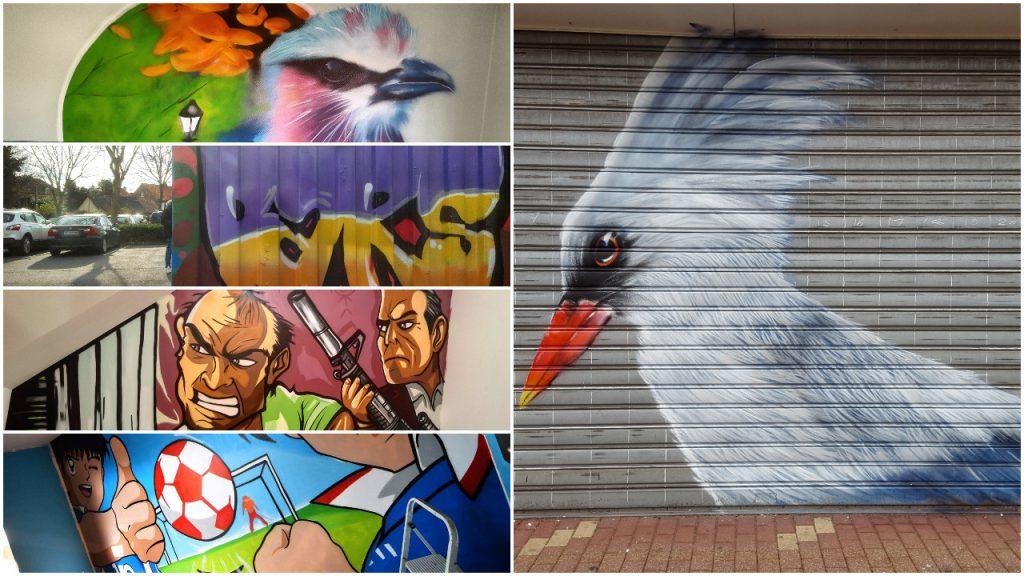 Notre collectif de graffeurs