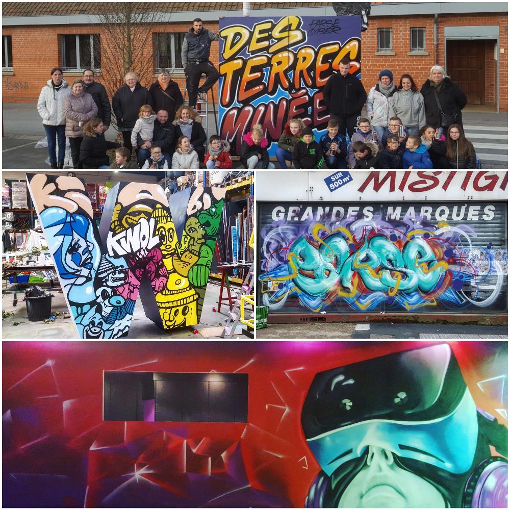 Notre graffeur pro dans le Nord Pas de Calais
