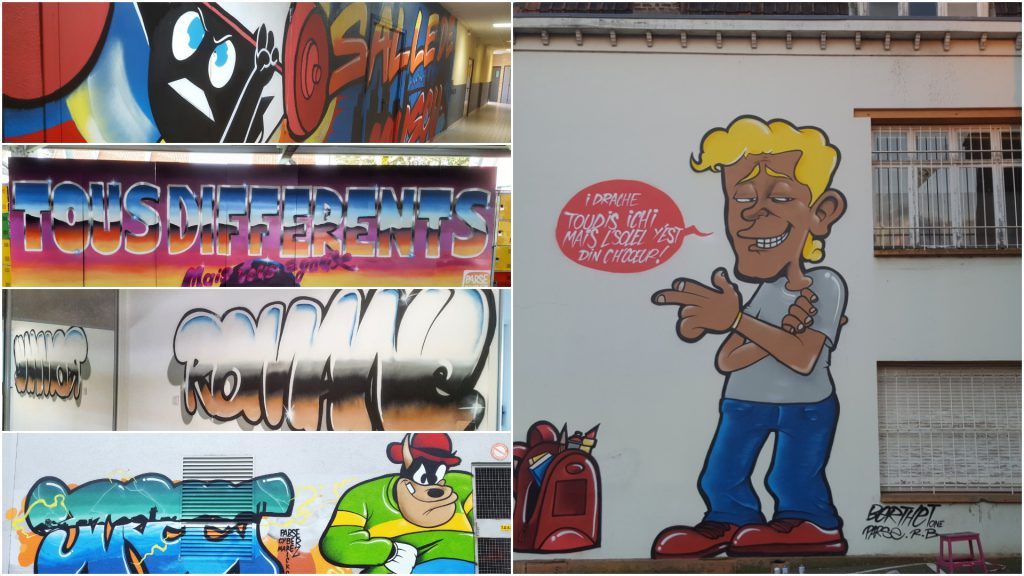 Graffeur du nord décos et tags