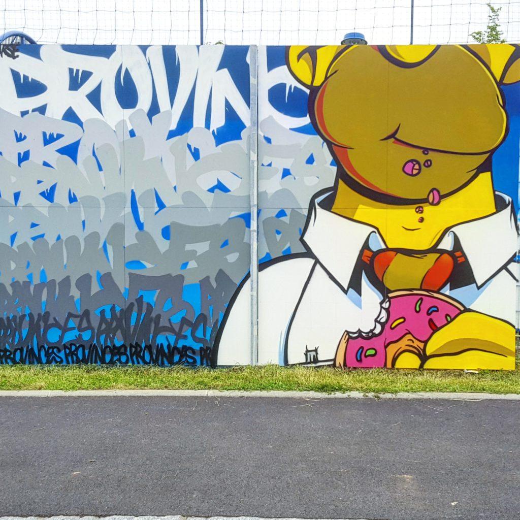 Graffeur Parse à Auchel