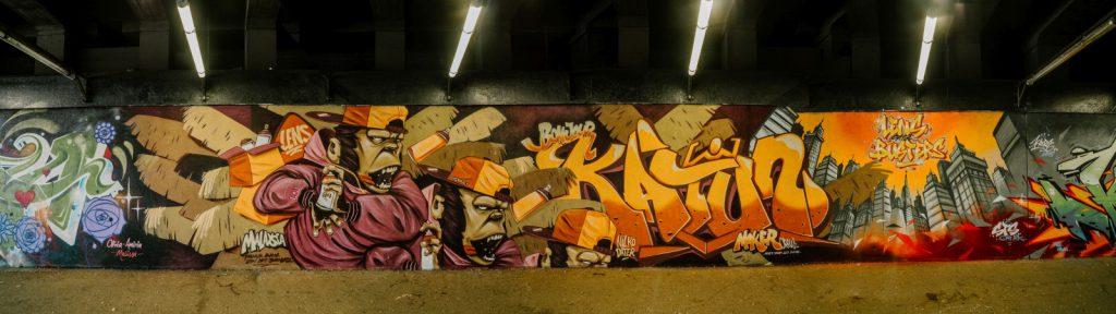Graffeur Katun