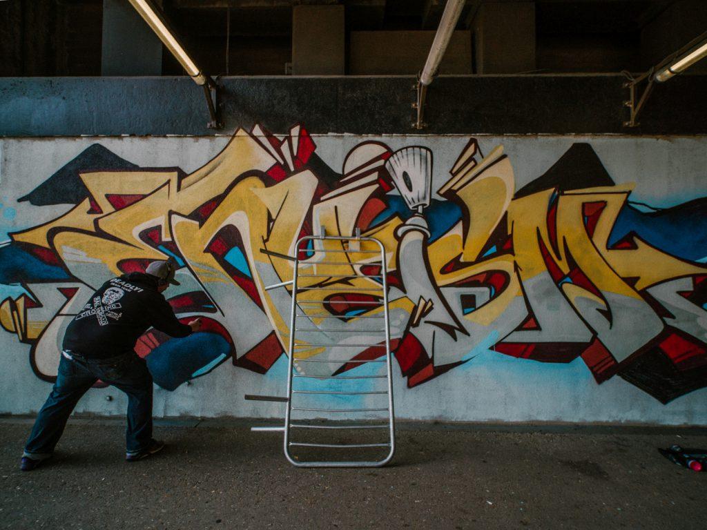 Graffeur ENUE