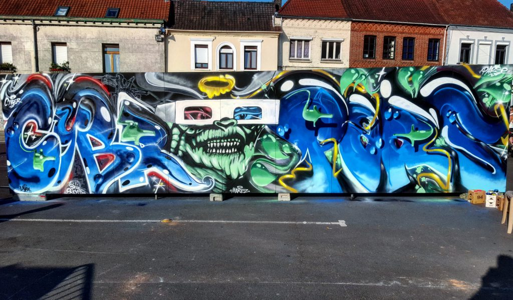 Démo graffiti Lillers