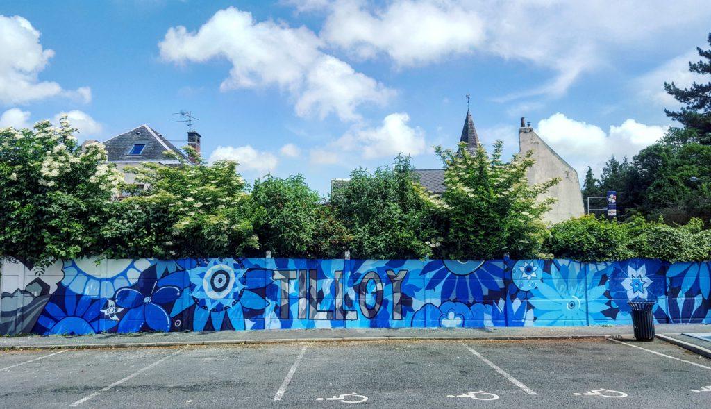 Graffitis à Tilloy-Lès-Mofflaines