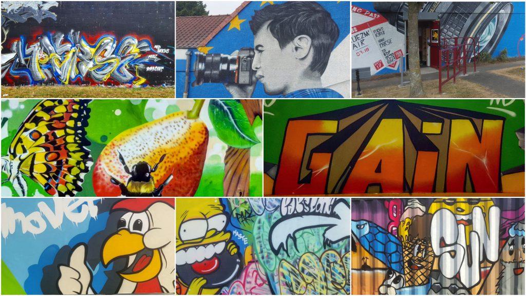 Street artiste Parese Graffiti Nord pas de Calais France