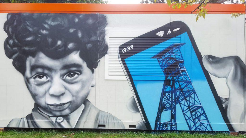 Graffeur indépendant à Méricourt