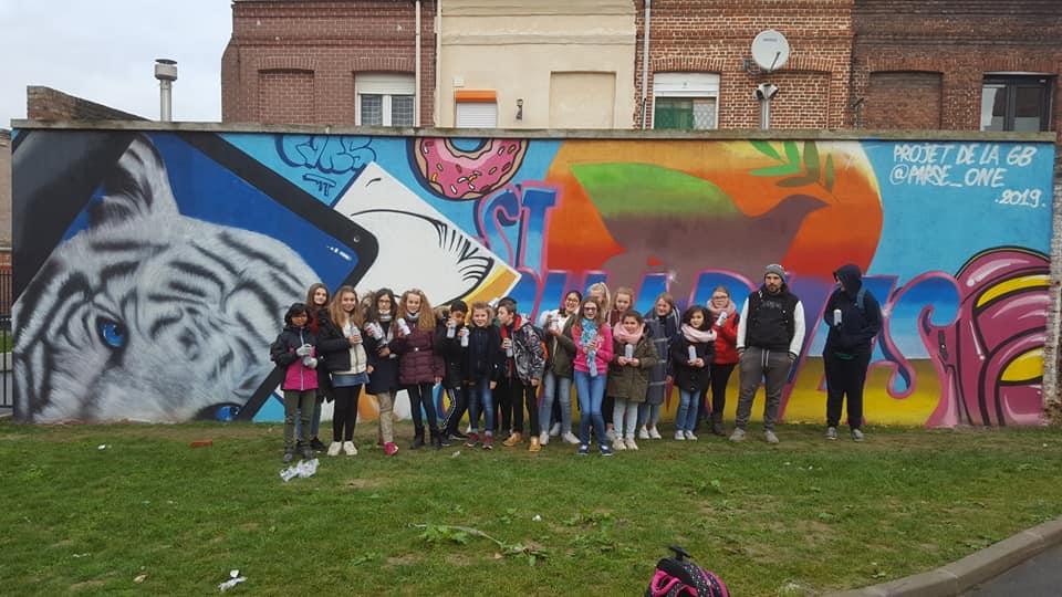 Animateur street art Nord pas de Calais