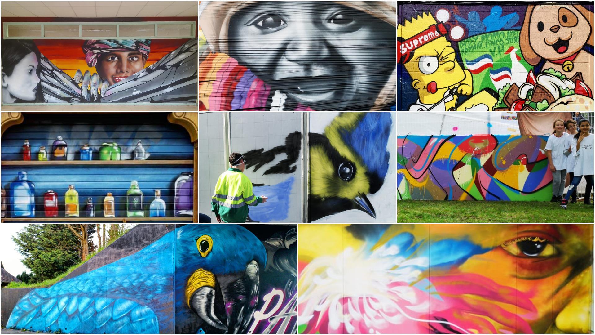 Intervenant graffiti dans le nord pas de Calais