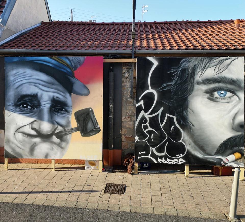 Faire un graffiti pour un festival