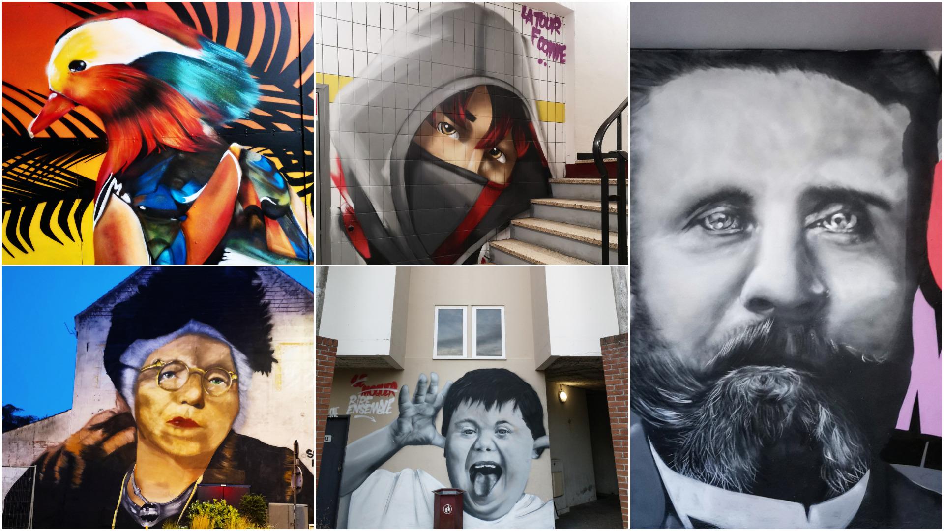 Graffeur dans le Nord