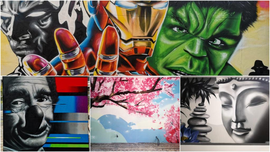 Fresques street-art Nord pas de Calais
