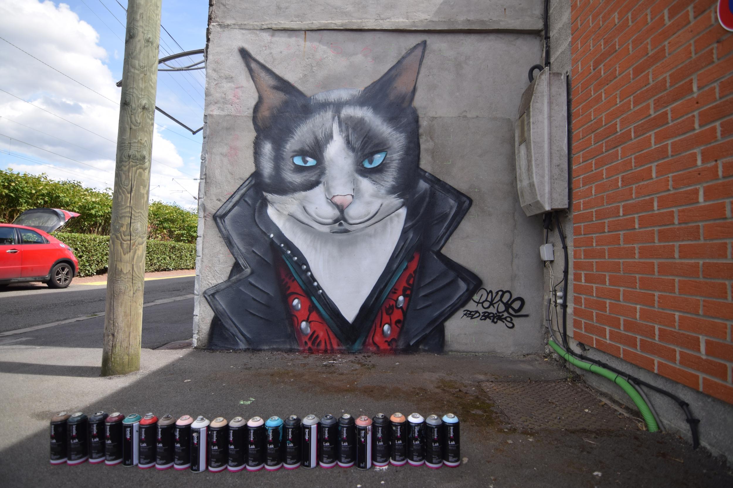 Décorations graffiti particuliers et entreprises