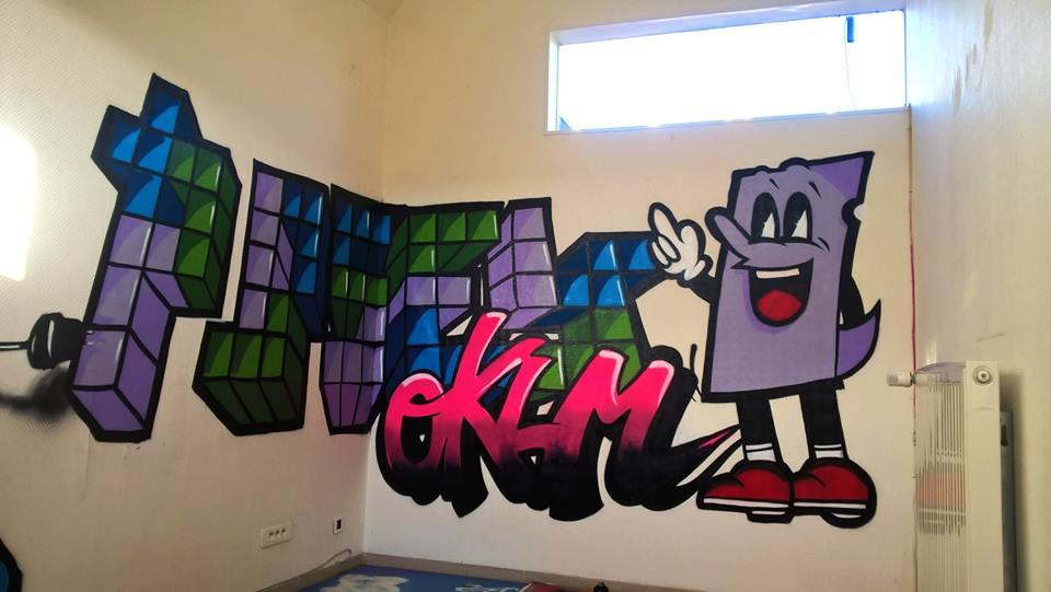 Formation graffiti des animateurs jeunesse