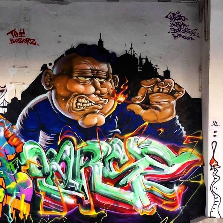 Parse, notre graffeur à Paris