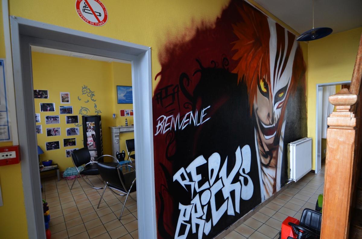 Graff Manga à l'APSA de Lens