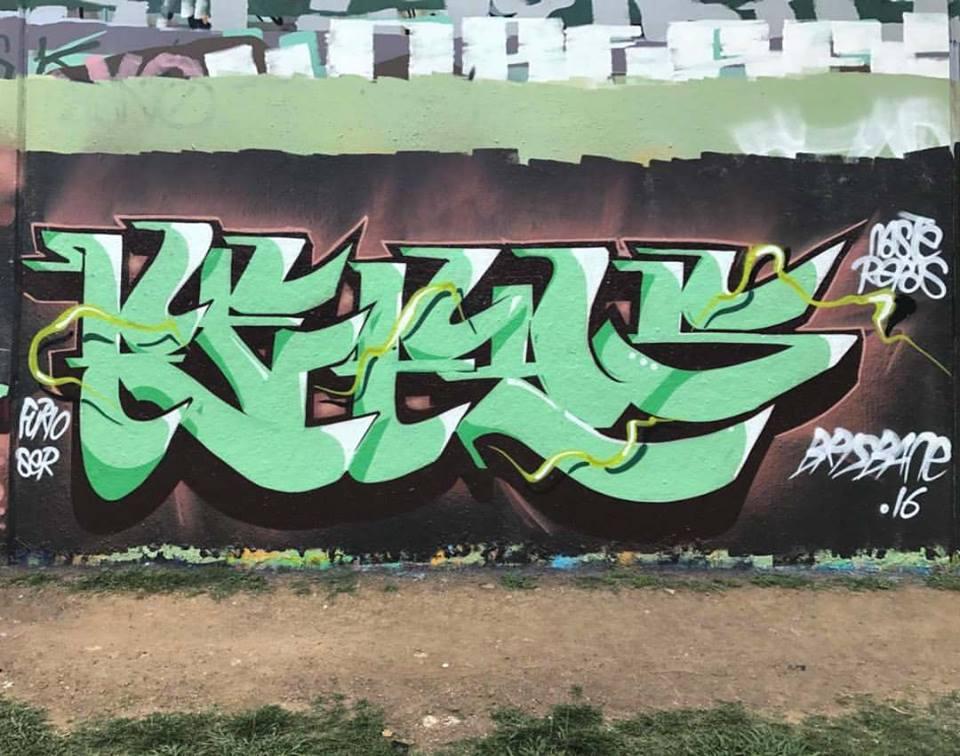 Graffitis en Australie