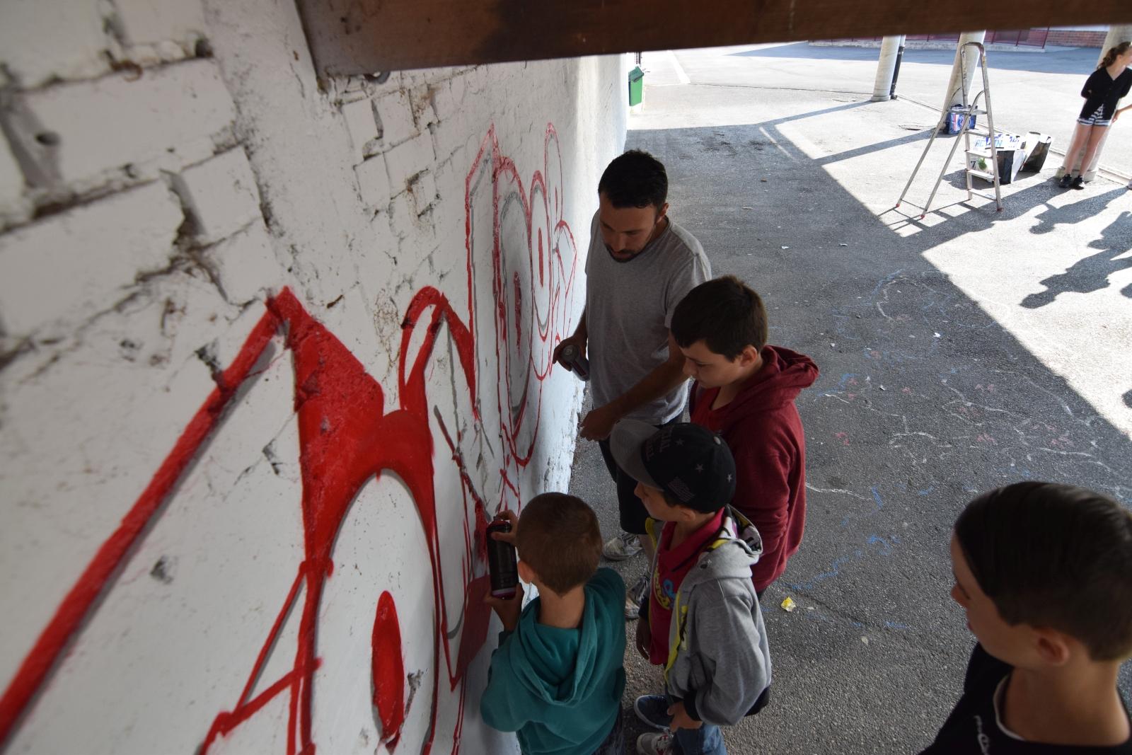 Apprendre le graffiti