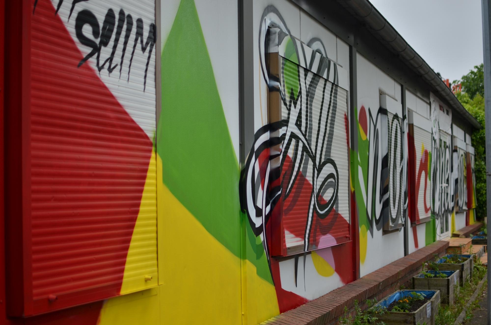 Graffiti sur façade