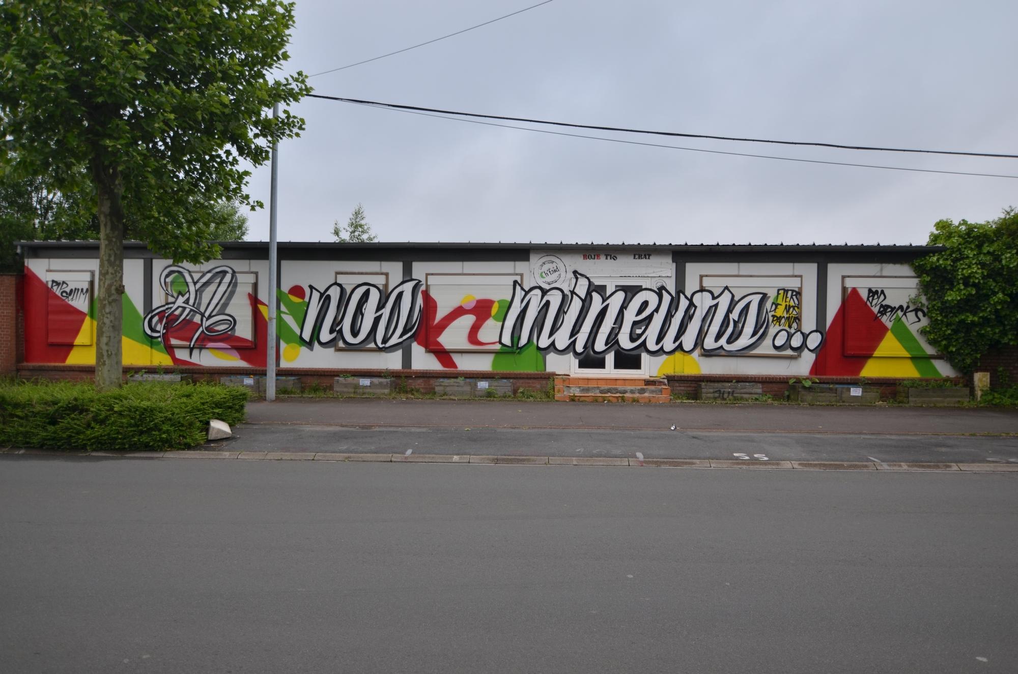 Graffiti contre culture