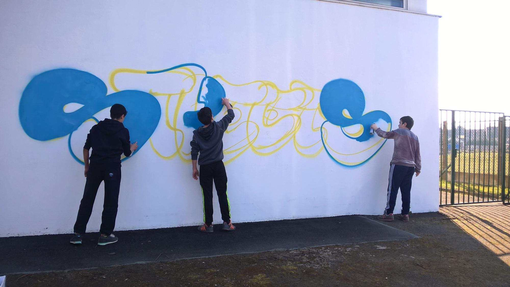 Graffeurs à Lens