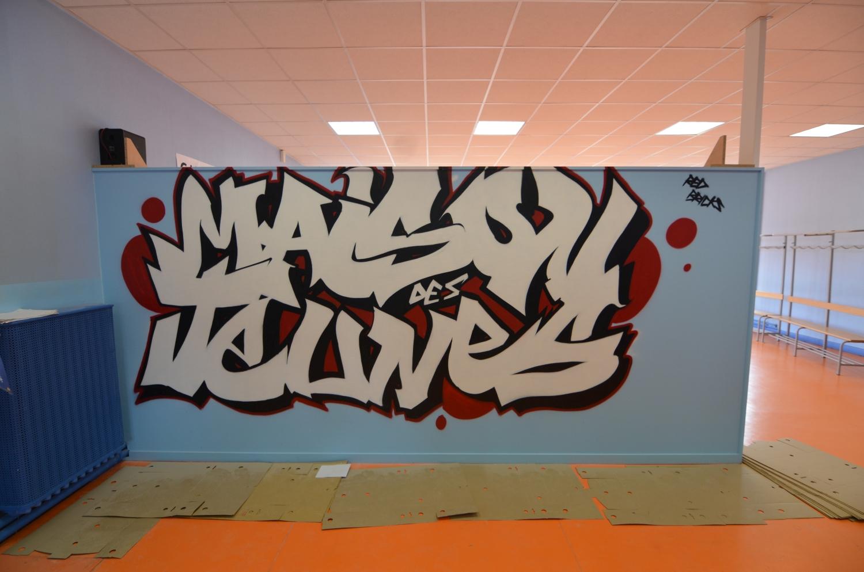 Graffeur dans le Nord Pas-de-Calais