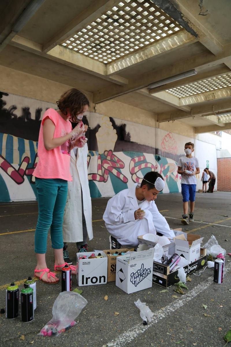 Du Street Art pour les écoliers de la ville de Lens