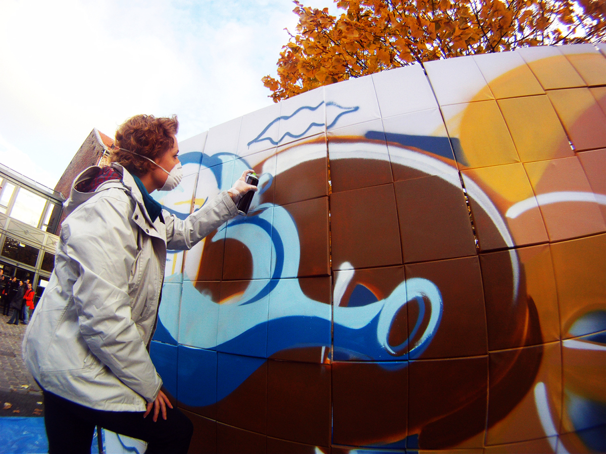 Du graffiti au travail en Team Building