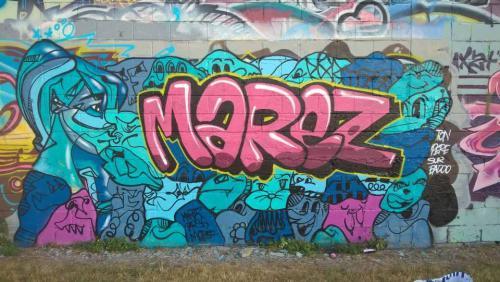 Graffiti par Mahrez